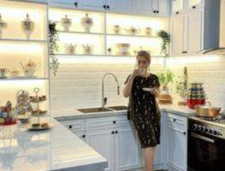 10 Potret Dapur Artis Indonesia dengan Desain Simpel hingga Mewah